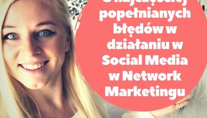 8 błędów w social Mediach