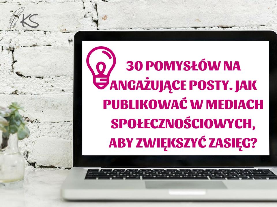 30 pomyslow