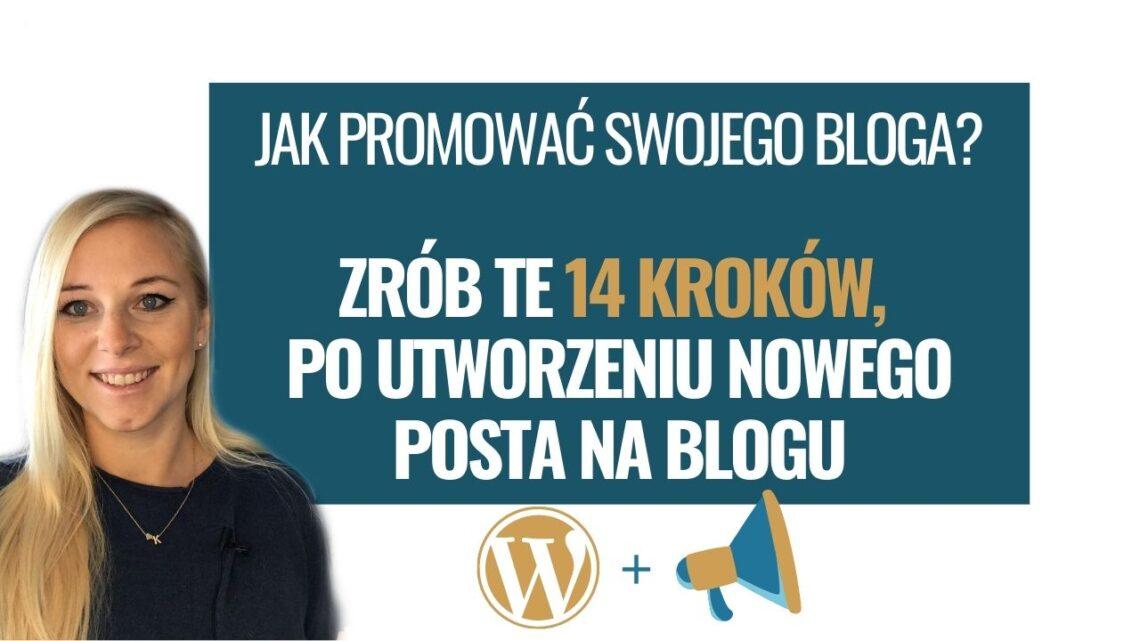 jak promować swojego bloga