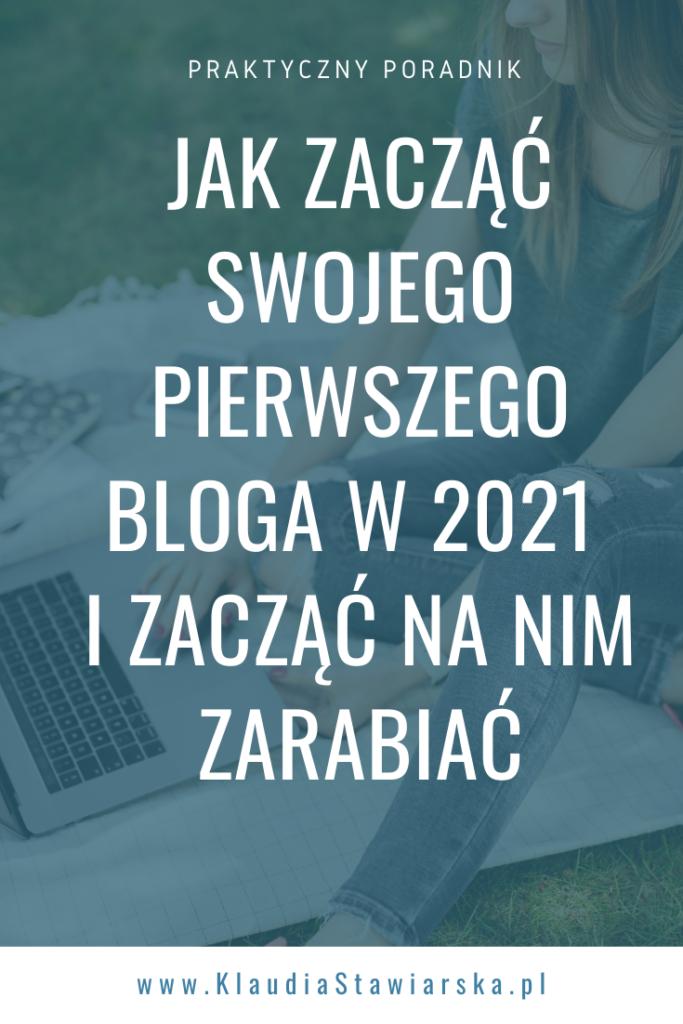 jak założyć bloga w 2021