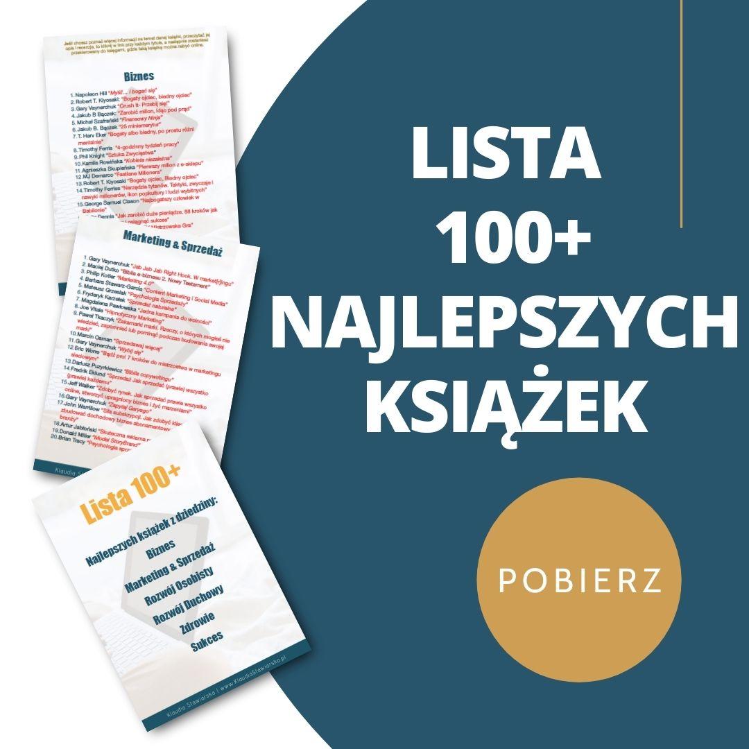 najlepsze książki sukcesu