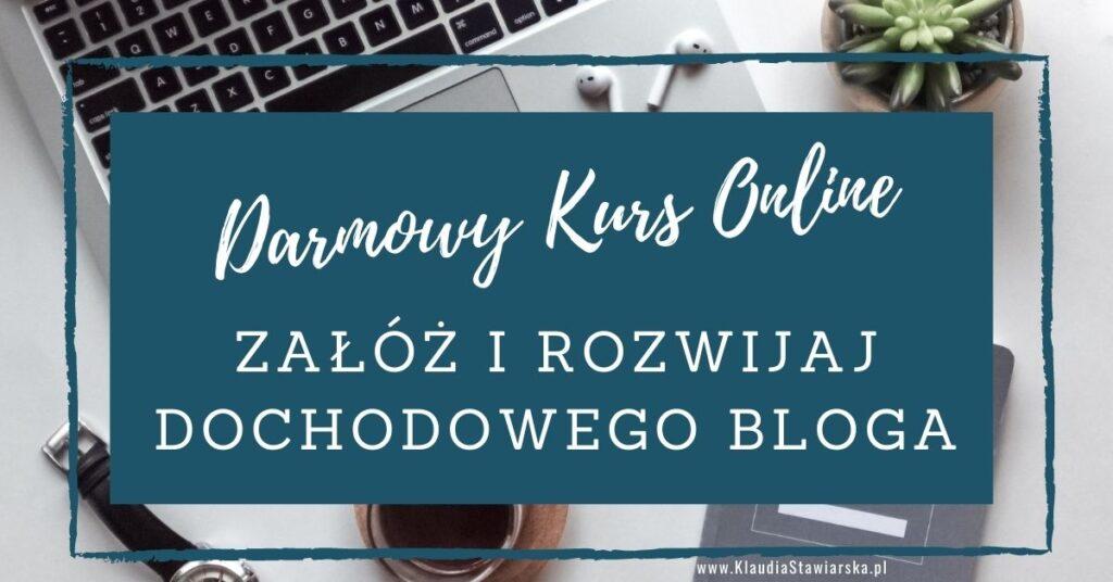 Załóż i rozwijaj bloga banner