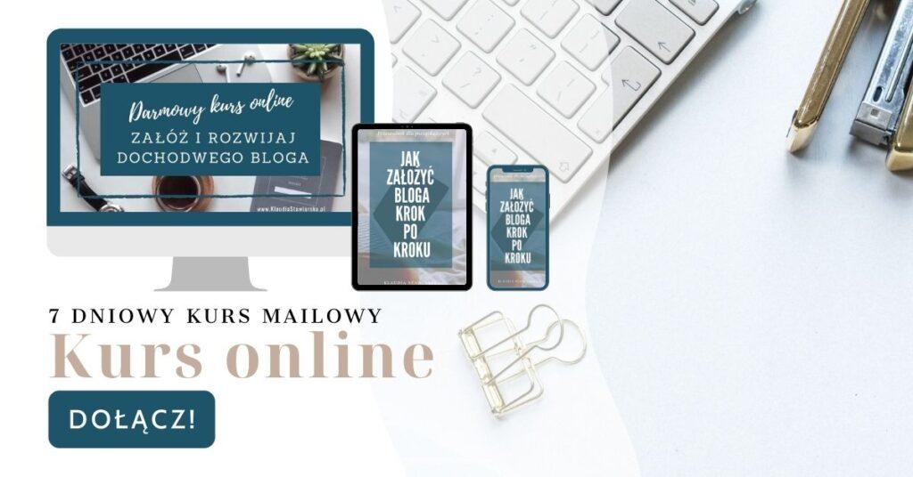 kurs online jak zacząć pisać bloga