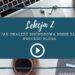 lekcja 2 Jak zacząć pisać bloga